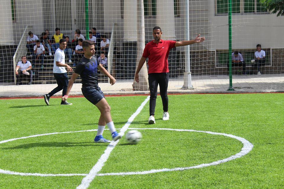 Football Pitch Opening Match